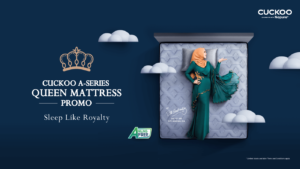 SLEEP LIKE ROYALTY WITH THE CUCKOO A-SERIES QUEEN MATTRESS